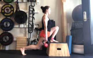 Split Squats and Ankle Rehab