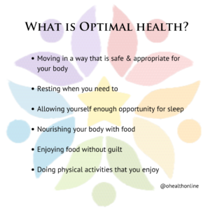 What is Optimal Health?